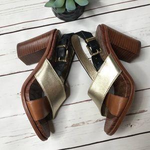 {Sam Edelman} sz 7 multi colored IVY heels